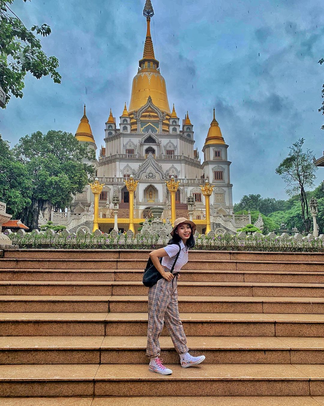 4 temples are inspected by young people in Ho Chi Minh City